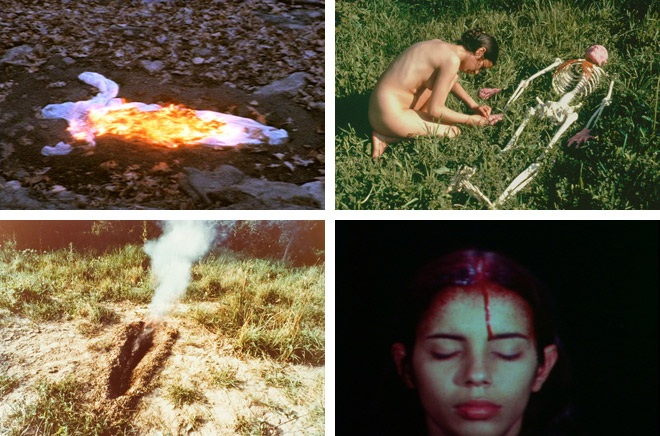 """Silueta and Silence"" show from Ana Mendieta. © The Alison Jacques Gallery"