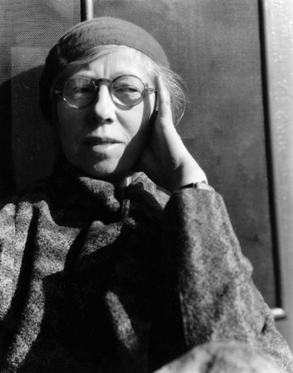 Imogen Cunningham - Self Portrait 1932