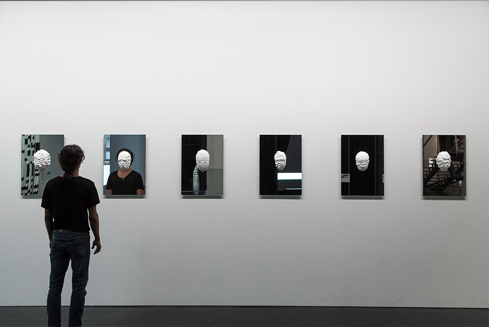Data-Mask Installation View at ZKM Karlsruhe for GLOBALE Infosphere Sep 2015
