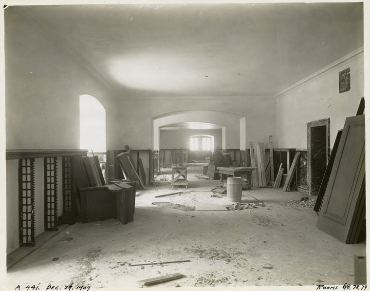 Trabajo del interior : habitaciones de los niños, 1909 © The New York Public Library