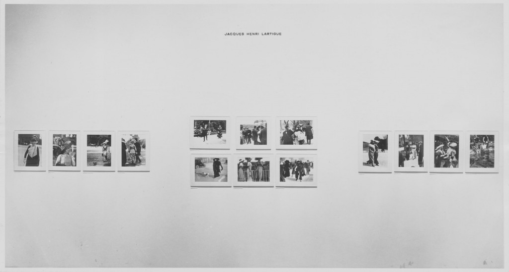 Photographs by Lartigue. July 1–November 3, 1963. The Museum of Modern Art, New York