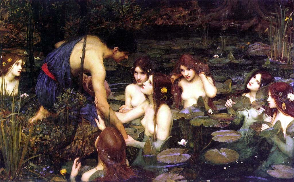 John William Waterhouse, Hilas y las ninfas