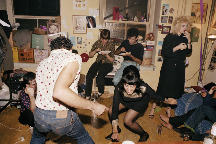 Nan Goldin, Twisting at my birthday party, 1980.