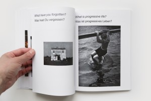 Pages from Interview by Hans Ulrich Obrist & Hans-Peter Feldmann, 2009