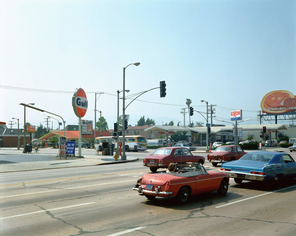 Stephen Shore, Beverley Boulevard and La Brea Avenue, Los Angeles, June 22, 1975