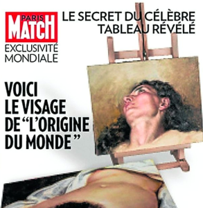 Paris Match Cover, 2013.